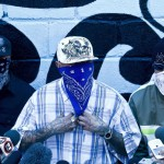 ABC News Reports (8/16/16): Masked members of the 18th Street gang give a press conference inside the San Pedro Sula prison in Honduras, May 28, 2013.