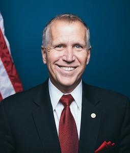 "U.S. Sen. Thom Tillis is among several senators pushing reform with the ""PROTECT Asbestos Victims Act."" Photo credit: Wikipedia."